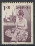 Stamps Sweden -  SUECIA_SCOTT 1154 $0.3