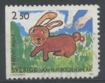 Stamps : Europe : Sweden :  SUECIA_SCOTT 1949 $0.25