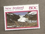 Stamps New Zealand -  Glaciares