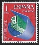 Sellos del Mundo : Europa : España : Salón de Artes Gráficas