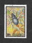 Stamps : Asia : Mongolia :  667 - Escarabajo