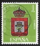Sellos de Europa - España -  VI  de la Fundacion de Guernica - Escudo de Guernica
