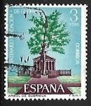 Stamps Spain -  VI  de la Fundacion de Guernica - Arbol de Guernica