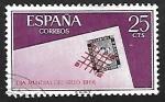 Stamps : Europe : Spain :  Dia mundial del sello 1966 - Parrilla de Reus