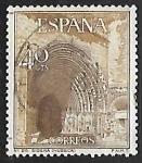 Stamps : Europe : Spain :  Serie Turística - Iglesia de Sigena (huesca)