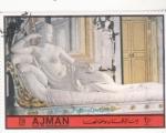 Stamps : Asia : United_Arab_Emirates :  FIGURA PAOLIINA BORGHESE