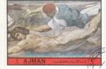 Stamps : Asia : United_Arab_Emirates :  PINTURA DE RAFFAELLO