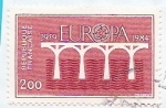 Sellos del Mundo : Europa : Francia :  EUROPA 1984 CEPT 25 ANIV