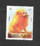 sellos de Asia - Emiratos Árabes Unidos -  Primate