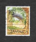 Stamps : America : Jamaica :  352 - El Viejo Puente de Hierro