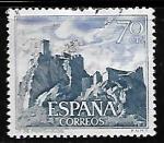 Sellos de Europa - España -  Castillos de España - Monteagudo (Murcia)