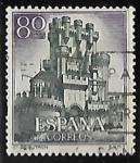 Stamps Spain -  Castillos de España - Butron (Vizcaya)