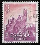 sellos de Europa - España -  Castillos de España - Almansa (Albacete)