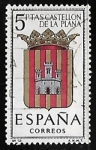 Sellos de Europa - España -  Escudos de las capitales de  provincia españoles -  Castellon de la plana