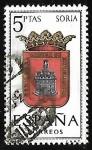 Sellos de Europa - España -  Escudos de las capitales de  provincia españoles -  Soria
