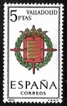 Sellos de Europa - España -  Escudos de las capitales de  provincia españoles -  Valladolid