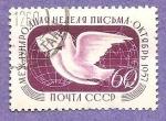 Stamps Russia -  1970 - Semana Internacional de la carta