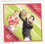 Stamps : Europe : Hungary :  JUEGOS OLIMPICOS MUNICH-72