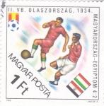 Stamps : Europe : Hungary :  CAMPEONATO MUNDIAL DE FUTBOL