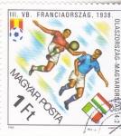 Stamps Hungary -  CAMPEONATO MUNDIAL DE FUTBOL