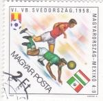 Sellos de Europa - Hungría -  CAMPEONATO MUNDIAL DE FUTBOL