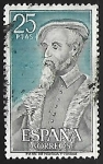 sellos de Europa - España -  Personajes Españoles - Andres  Laguna