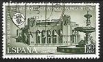 sellos de Europa - España -  L Aniversario de la Feria Muestrario Internacional de Valencia