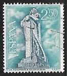 Stamps Spain -  Serie Turistica - Monumento a Colon (Huelva)