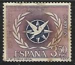 Sellos de Europa - España -  Serie Turistica - Simbolo Oficial