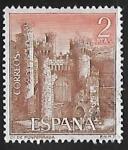 sellos de Europa - España -  Castillos de España - Ponferrada (León)