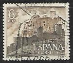 Sellos de Europa - España -  Castillos de España - Loarre (Huesca)