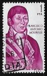 sellos de Europa - España -  Forjadores de America - Francisco Antonio Mourelle