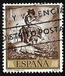 Sellos de Europa - España -  Mariano Fortuny Marsal -