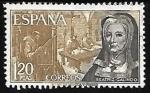 Sellos de Europa - España -  Personajes españoles - Beatriz Galindo