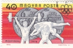 Stamps : Europe : Hungary :  JUEGOS OLIMPICOS MONTREAL-76