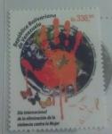 Stamps of the world : Venezuela :  Día Internacional de la Eliminación de la Violencia Contra la Mujer