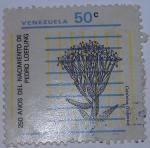 Sellos de America - Venezuela -  250 AÑOS DEL NACIMIENTO DE PEDRO LOEFLING