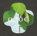 Stamps Finland -  2032 - Hojas de árbol