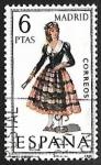 sellos de Europa - España -  Trajes típicos españoles - Madrid