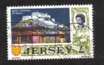 Sellos del Mundo : Europa : Isla_de_Jersey : Vistas en Jersey