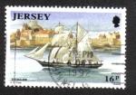 Sellos del Mundo : Europa : Isla_de_Jersey : Construcción naval