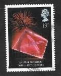Stamps United Kingdom -  1377 - 3as. Eleccciones al Parlamento europeo