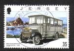 Sellos del Mundo : Europa : Isla_de_Jersey : Jersey Transporte (tercera serie). Entrenadores