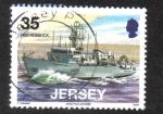 Sellos de Europa - Isla de Jersey -  Jersey Naval Conexiones (segunda SER). Visitar naves navales