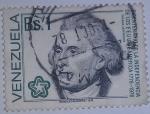 Stamps : America : Venezuela :  BICENTENARIO DE LA INDEPENDENCIA DE LOS EE.UU. DE AMERICA 1776 1976