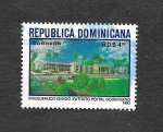 Stamps Dominican Republic -  Inaguración Edificio Instituto Postal Dominicano