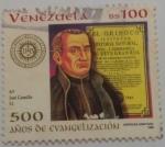 Stamps : America : Venezuela :  500 AÑOS DE EVANGELIOZACIÓN