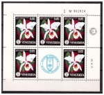 Stamps Venezuela -  Serie Orquídeas