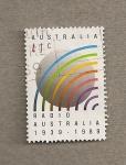 Sellos del Mundo : Oceania : Australia : Radio Australia