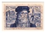 Stamps France -  500 Aniv. Nac. Leonardo Da Vinci